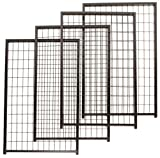 Cheap PetSafe Set of 4 Cottageview Kennel Panel, 2-1/2-Foot-by-4-Foot