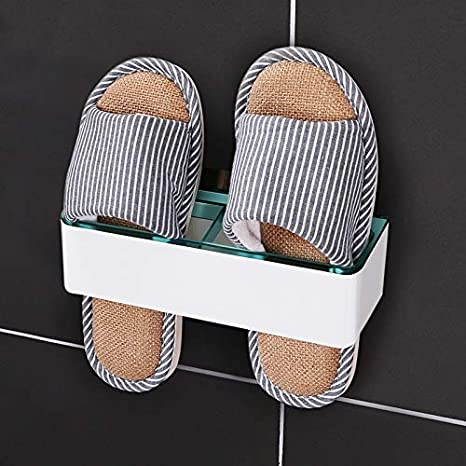 CHLCH Zapatillas de baño montadas en la Pared Perchero ...