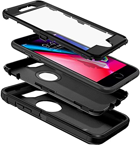 KLD® Full Body Case for Apple iPhone 8 / iPhone 7 Front + Back Back Cover