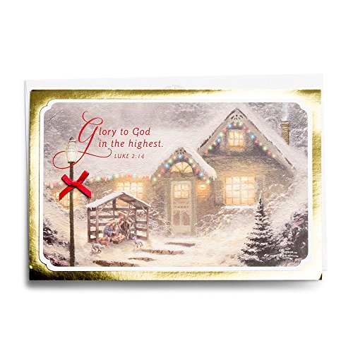 Christmas Boxed Cards - Thomas Kinkade - Manger ()
