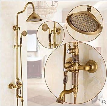 KaO0YaN-Shower Europeo Antiguo Grifo Cobre Válvula ...