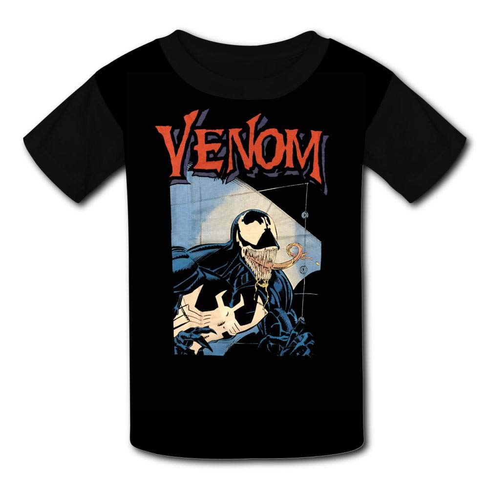 Ve-Nom Art Kids T-Shirts Short Sleeve Tees Summer Tops for Youth//Boys//Girls
