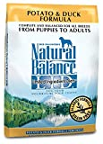 Natural Balance Dry Dog Food, Grain-Free Limited Ingredient Diet Duck and Potato Formula, 26 Pound Bag