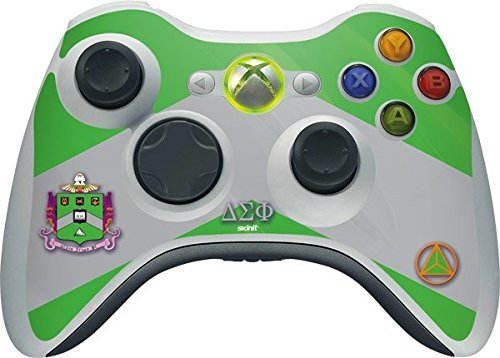 Delta Sigma Phi Xbox 360 Wireless Controller Skin - Delta Sigma Phi Vinyl Decal Skin For Your Xbox 360 Wireless Controller by Skinit