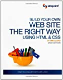 Build Your Own Web Site the Right Way Using HTML and CSS, Lloyd, Ian, 0980455278