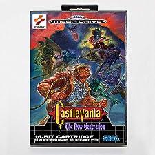 Castlevania the new generation 16 bit SEGA MD Game Card With Retail Box For Sega Mega Drive For Genesis ,Sega Genniess-Sega Ninento,16 bit MD Game Card