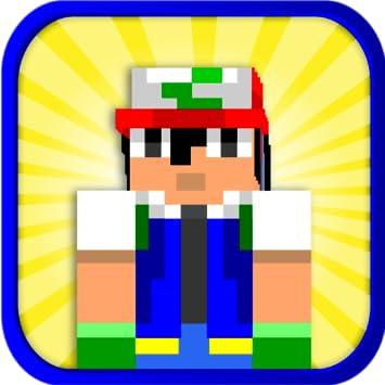 Amazoncom Pokémon Skins For Minecraft Pro Multiplayer Skin - Skin para minecraft pe de pokemon