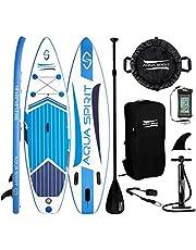 AQUA SPIRIT 10ft / 3m ISUP Inflatable Stand Up Paddle Board Begi