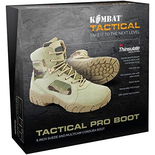 Kombat UK 6inch táctico Pro boot-multicam camuflaje