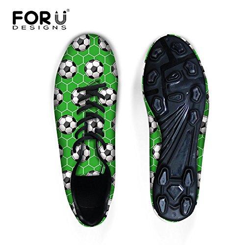FOR U DESIGNS Personality Green Football Lightweight Men ...