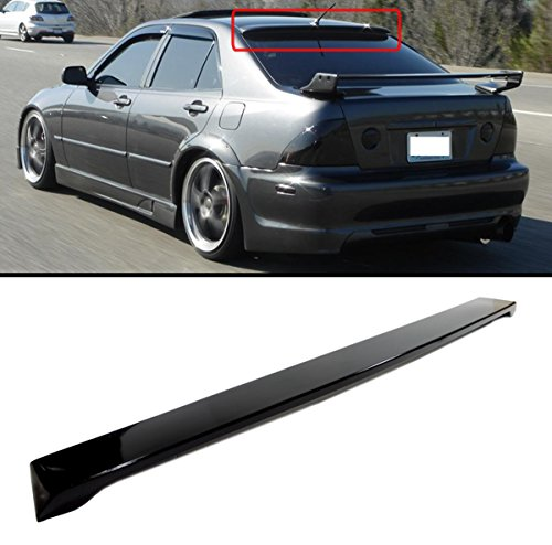 Cuztom Tuning VIP GLOSSY BLACK JDM REAR ROOF WINDOW SPORT SPOILER WING FOR 2001-2005 LEXUS (Lexus Is300 Spoilers)