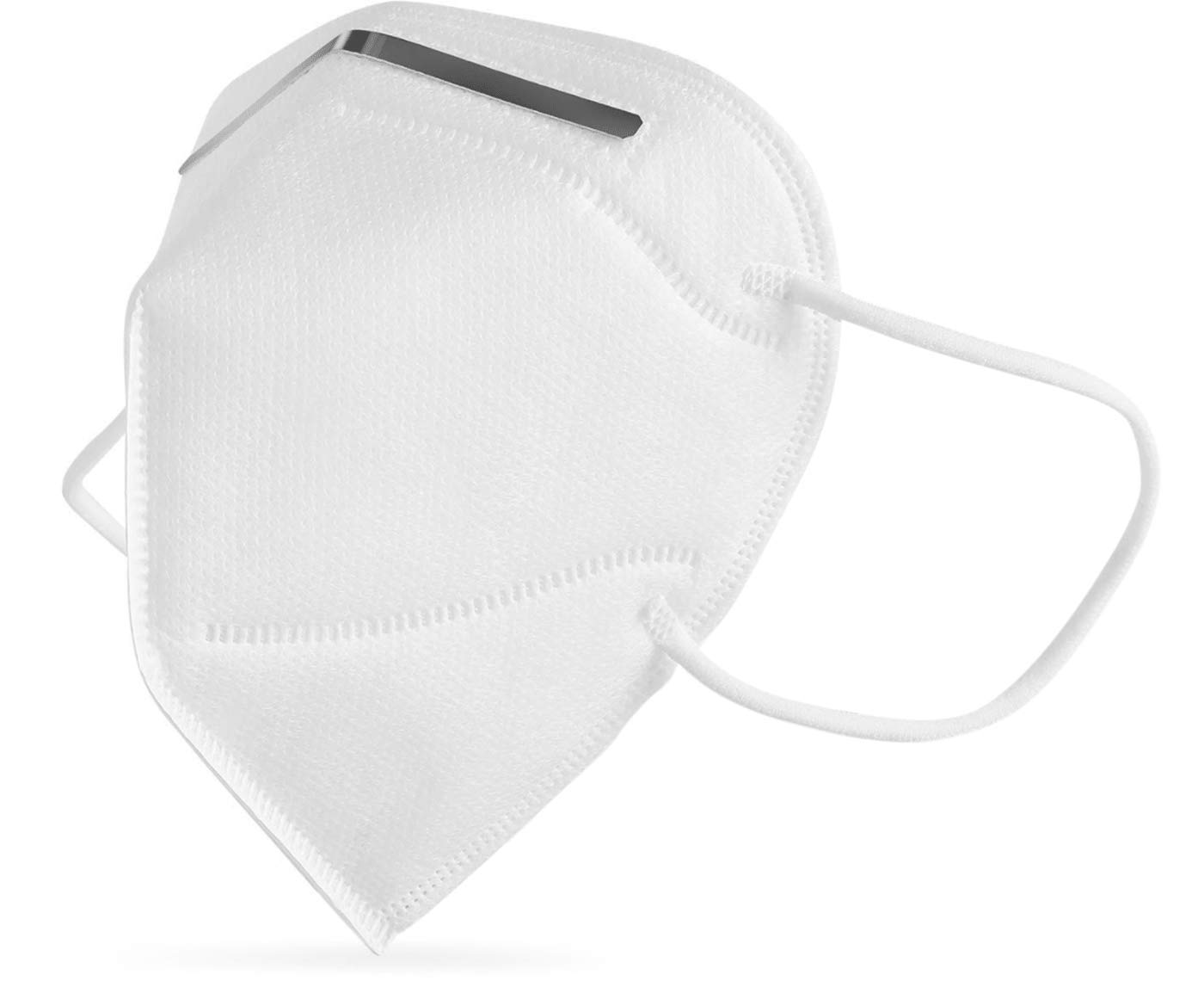 Mascarilla FPP2/KN95 WottoCare, Mascarilla de Protección Personal. 5 capas. Mascara Alta Eficiencia Filtración, Caja 20 Unidades Certificado CE