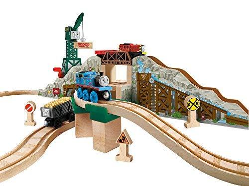 Fisher-Price Thomas & Friends Wooden Railway Gold Mine Mountain Set Toy