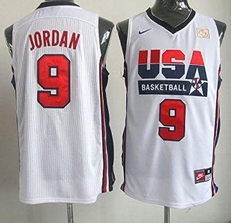 Michael Jordan 1992 olímpicos de Estados Unidos dream team Jersey blanco tamaño mediano: Amazon.es: Ropa y accesorios