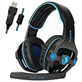 Image of Sades SA903 USB 7.1 Surround Sound Stereo Gaming Headset with Mic