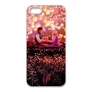 Happy Frozen Romantic prince and princess Cell Phone Case for Iphone 5s