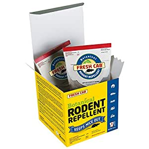 Earthkind Botanical Rodent Repellent, 4 Pouches - 125 Square Feet per Pouch