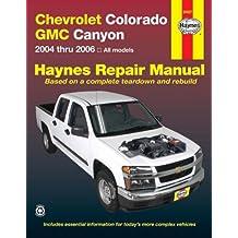 Chevrolet Colorado & GMC Canyon, '04-'06
