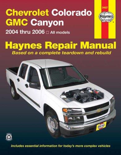 Chevrolet colorado repair manual free.