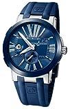 Ulysse Nardin Executive Dual Time Blue Dial Men's Watch 243-00-3/43