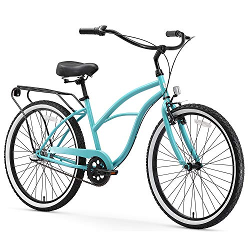 sixthreezero Around The Block Women's 3-Speed Beach Cruiser Bicycle, 24