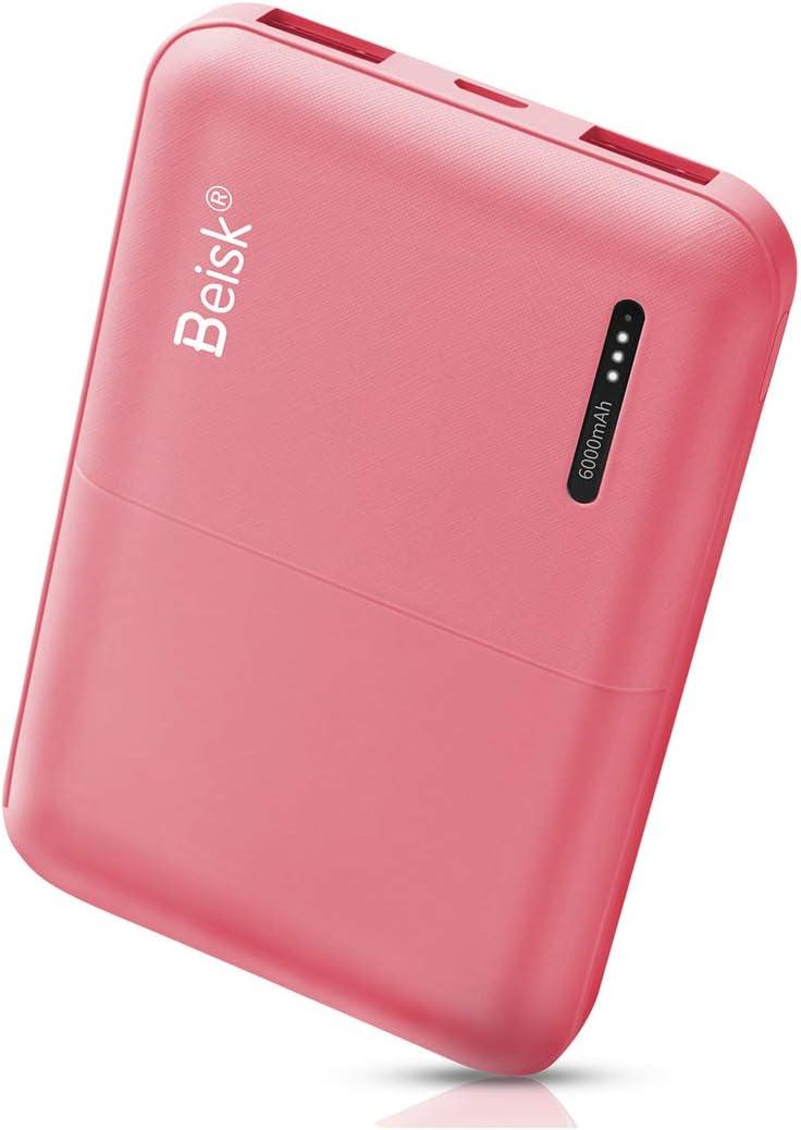 BEISK Power Bank 6000 mAh Cargador Portátil Modelo Universal 2 ...