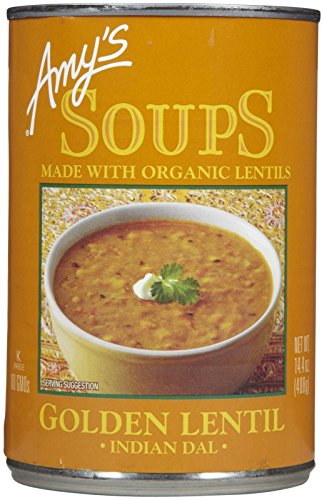 Amy's Organic Golden Lentil Soup - 14.4 OZ