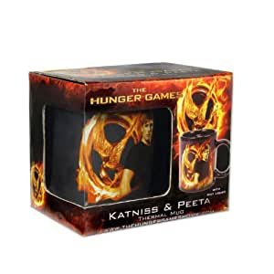 Neca - The Hunger Games, Katniss y Peeta, taza térmica (NEC0NC31632)