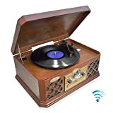 Pyle PTCD4BT Bluetooth Classic Style Record Player Turntable - Best Reviews Guide