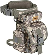 Drop Leg Bag for Men Metal Detecting Pouch Tactical Military Thigh Waist Pack