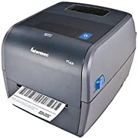 Honeywell PC43TB00000301 PC43t Monochrome Thermal Transfer Label Printer - 300 dpi - 6 ips - 120, 230V AC - USB 2.0 - Gray (Certified Refurbished)