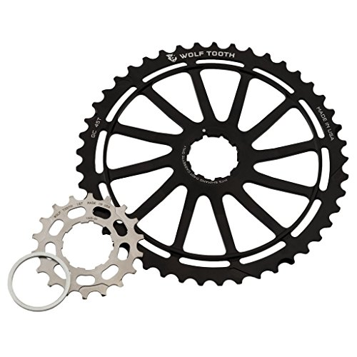 Wolf Tooth Components Giant Cog for Shimano 11sp Black, 45t