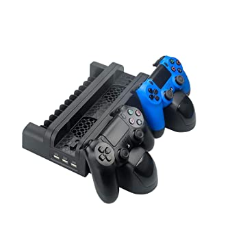 Amazon com: Vertical Multi-functional Cooling Pad Cooling Dock Stand