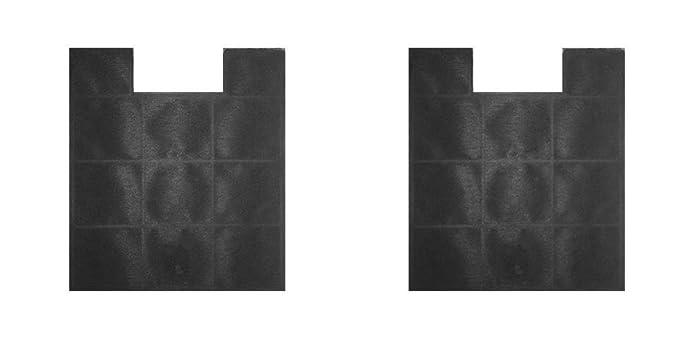2 stück aktivkohlefilter umluft ersatz kohlefilter zu amica kf 17147