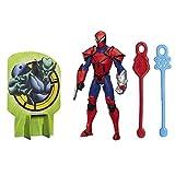 Marvel Ultimate Spider-Man Web Warriors Web Slingers Spyder Knight Figure by Spider-Man