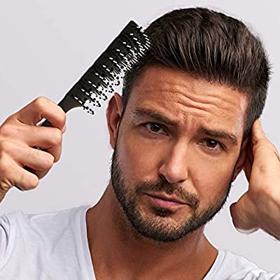 Surprising Amazon Com Professional Mens Hair Brushes Vented Hair Brush Natural Hairstyles Runnerswayorg