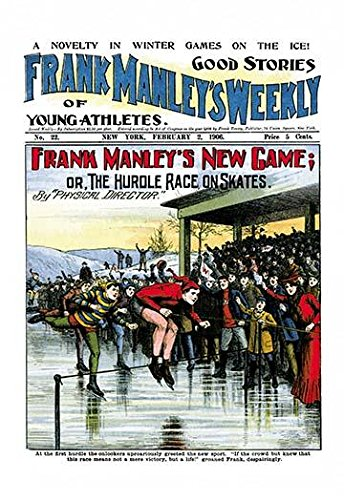 Cover to a victorian pulp magazine Frank manleys Weekly These inexpensive publications would provide serial type stories for young children February 2 1906 Poster Print by unknown (18 x 24)