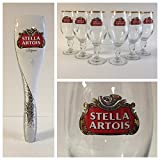 Stella Artois 2016 Estate Series Style Tap Handle & 6 33cl Glasses