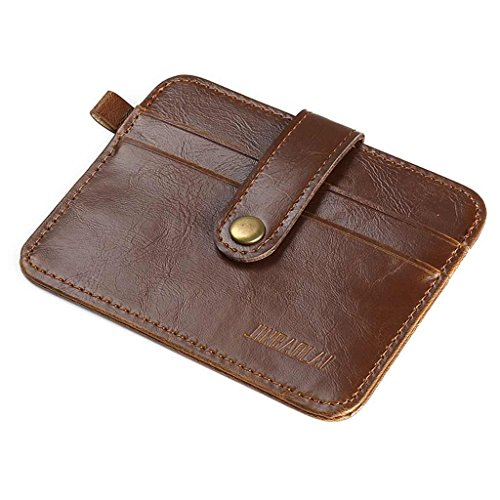 Week Clips Leather Coffee Purse Men Credit Wallet Sale Crash Money for Deals Valentoria Coffee 2018 ID Card Wallets Holder Day Prime UpgqxYtR