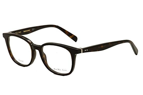 8ce9319757 Amazon.com  Celine 41346 Eyeglasses-0086 Dark Havana -51mm  Clothing