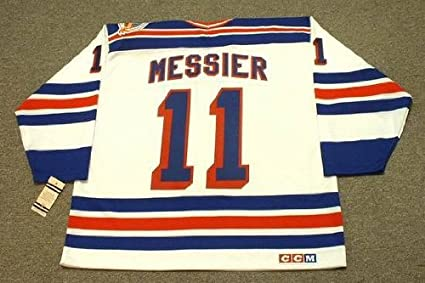 cba8e43d67b Image Unavailable. Image not available for. Color  MARK MESSIER New York  Rangers 1994 CCM ...