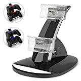 PS3 Playstation 3 Controller Charger, YCCTEAM® Dual Console Charger Charging Docking Station Stand for Playstation 3 PS3 with LED Indicators, Black Review
