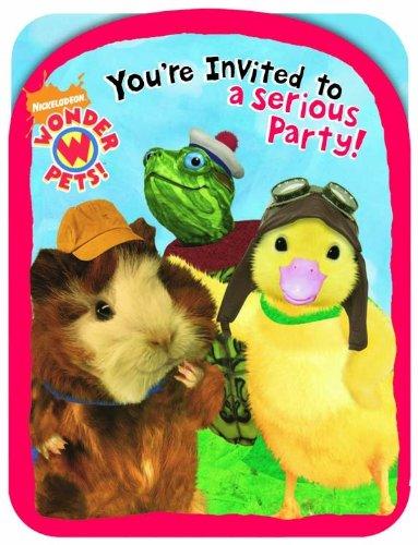 Designware Wonder Pets Invites - 8 ct
