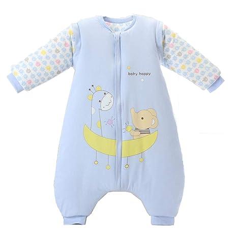 Gleecare Saco de Dormir para bebé,Otoño e Invierno Thicken Cotton Saco de Dormir con