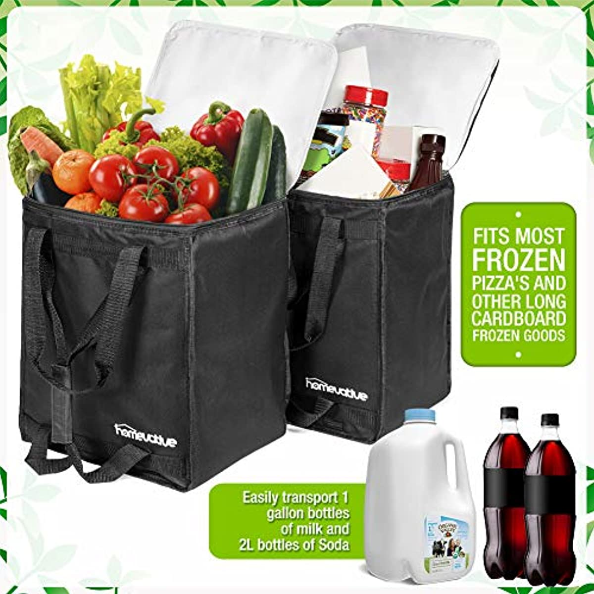 Insulated Food Delivery Bag Hot Cold Container Uber Eats
