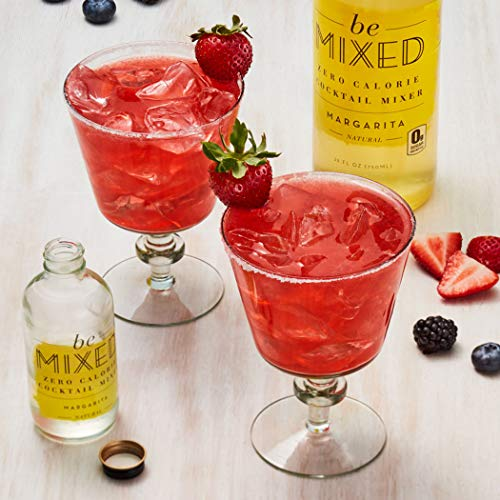 Zero Calorie Margarita Cocktail Mixer by Be Mixed | Low Carb, Keto Friendly, Sugar Free and Gluten Free Drink Mix | 25 ounce bottle, 3 pack by Be Mixed (Image #3)