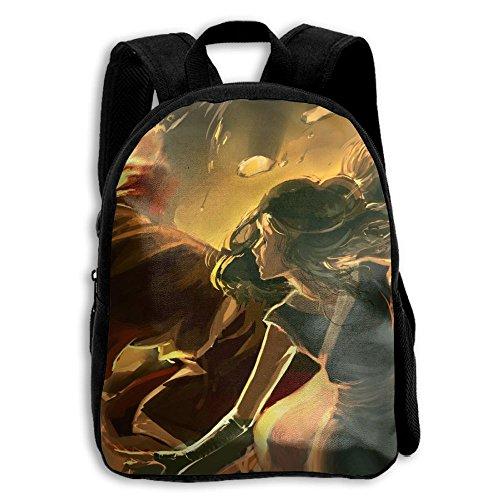 - Crazy Popo Children The Last Airbender Preschool Backpack Lunch Bag