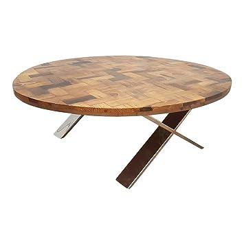 dasmöbelwerk Massivholz Recycling Holz Antik Look Beistelltisch ...