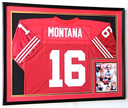Amazoncom Xl Double Matted Custom Framed Jersey Display Case