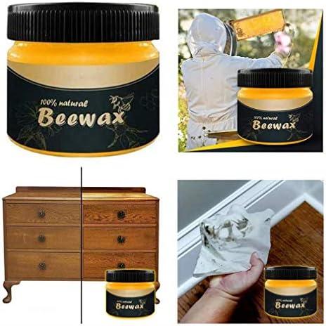 Beeswax, Wood Wax, Holzwachs, Wood Seasoning Beeswax, Bienenwachs-Poliermittel für Holz und Möbel